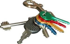 recuperare mazzo di chiavi dimenticate